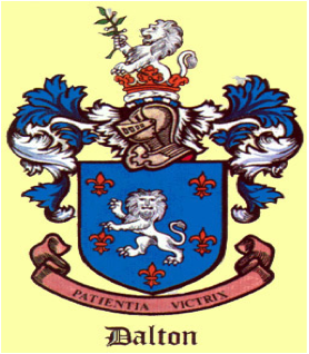 I Have Read Somewhere That The Irish Dalton Coat Of Arms Was Copied After De Lacy Because Sir Walter Aliton A Knight Under
