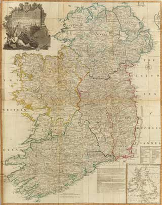 1794 Map of Ireland